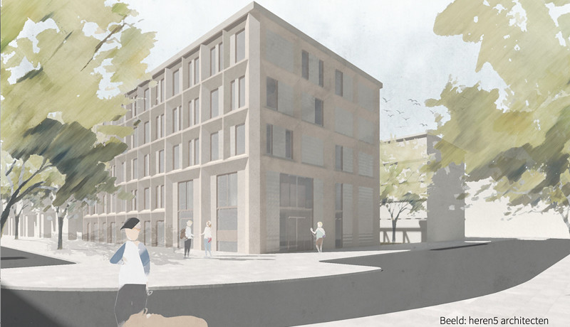 Amsterdam housing corporation gets first with wooden residential building